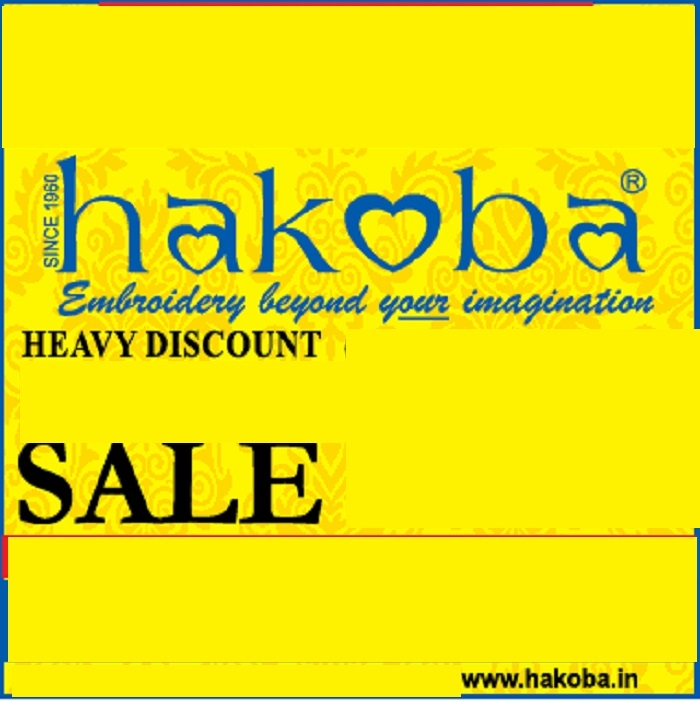 50% discount at Hokoba Embroidery Sale