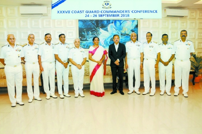 Defence Minister lauds Coast Guard