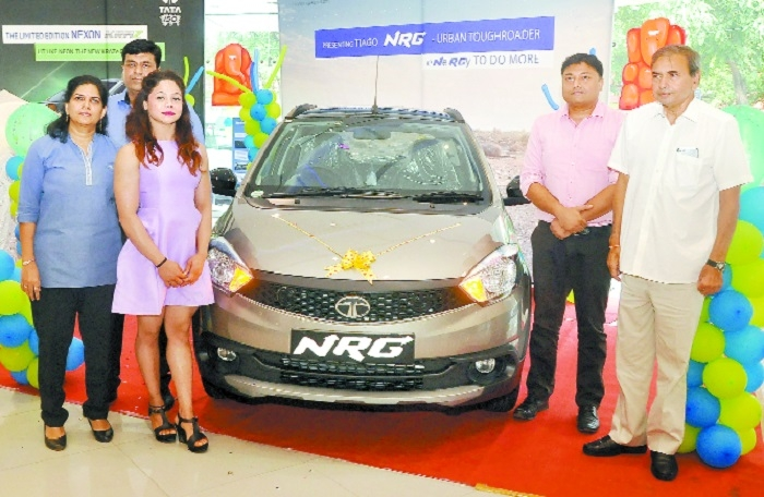 Tata Motors launches Tiago NRG and Nexon KRAZ at Jaika Motors