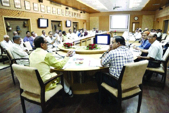 CM attends Wildlife Board meeting
