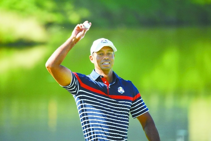 Tiger ready for first-tee tension and big crowds