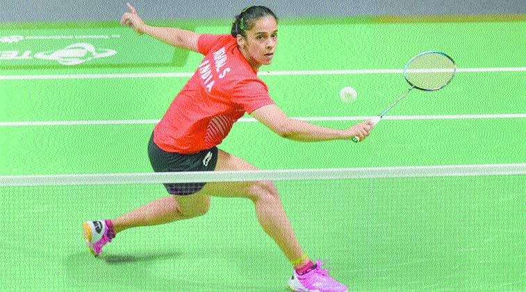 Saina sails into quarter-finals