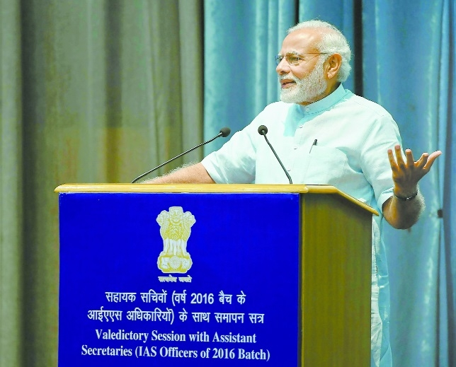 Develop connect with people and serve them: PM to IAS officers
