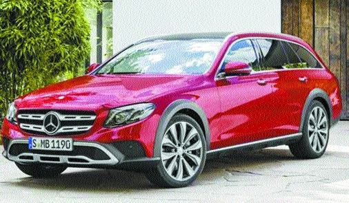 Merc drives in new E-Class All Terrain at Rs 75 lakh