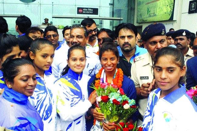 Harshita's superb journey from Hoshangabad to Asian Games