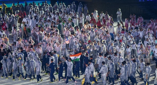 Spectacular farewell to Asian Games