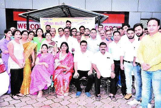 ABKM Yuva newly-appointed dignitaries take charge