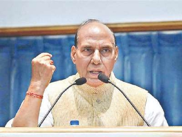 Forces struck hard at Pak recently: Rajnath