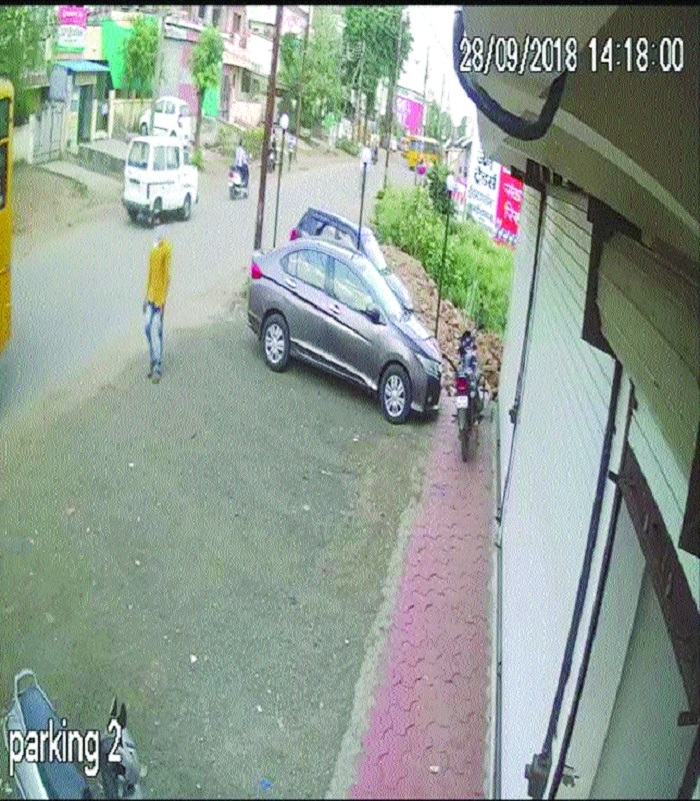 Cops release CCTV footage of accused in Kolar robbery