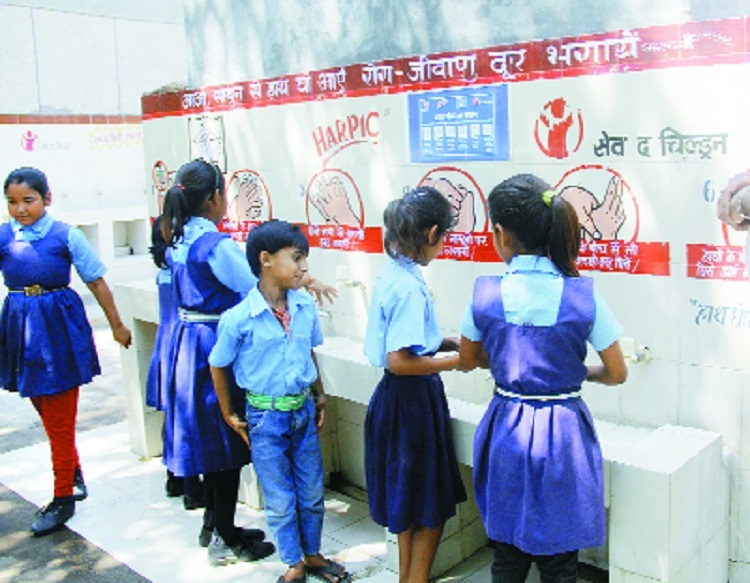 'India made progress on sanitation in schools'