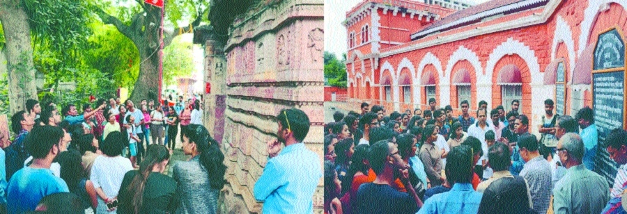 Nagpurians experience historical, modern architectural infrastructures of city