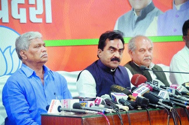 Congress hand in Churhat incident: Rakesh Singh