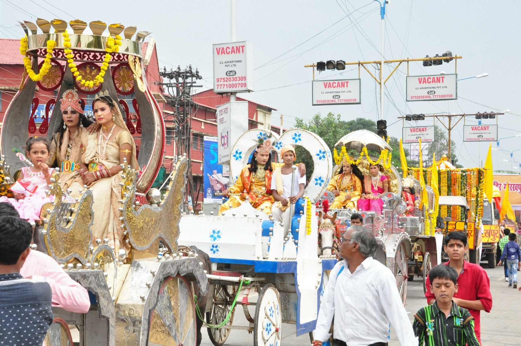 Krishna Janmashtami celebrated with fervour in city