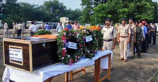 Lance Naik Sahu cremated with military honours