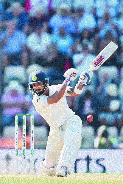 Need to learn art of crossing the line: Kohli