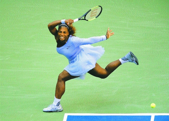 Serena in US Open quarters