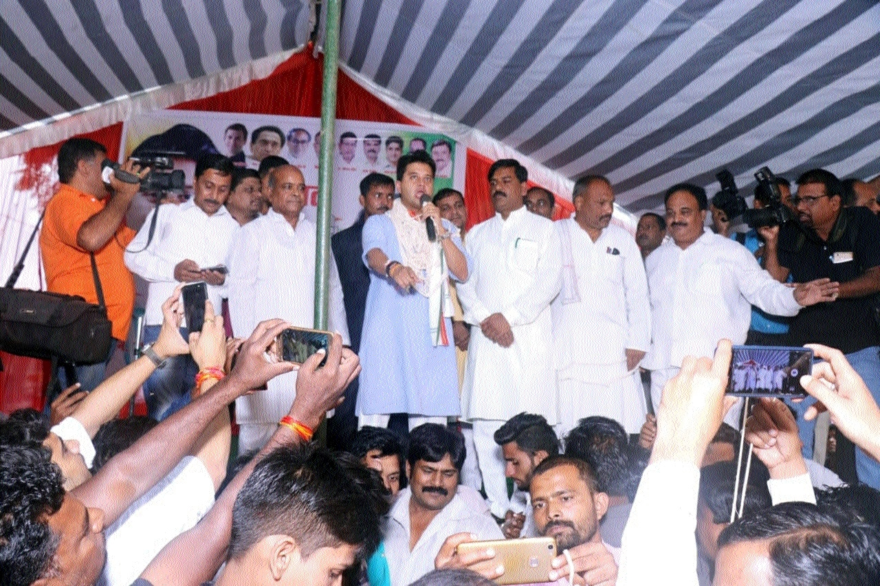People of Madhya Pradesh want change: Jyotiraditya Scindia