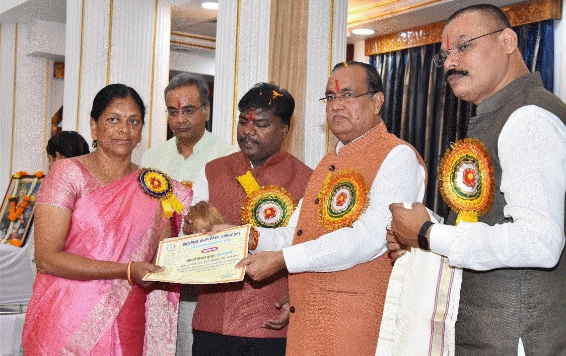 Rajya Shikshak Samman Puraskar to five teachers