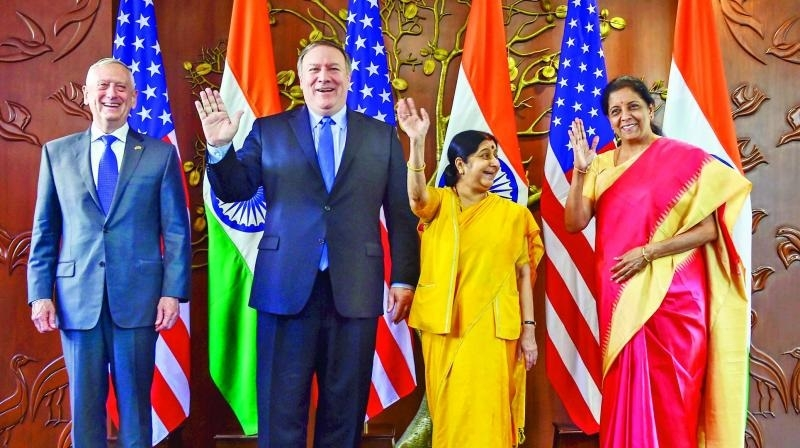 India, US ink critical Defence pact