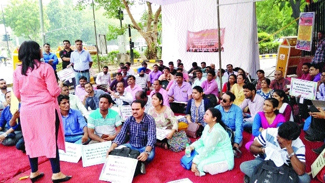Non-medical teachers demand separate council