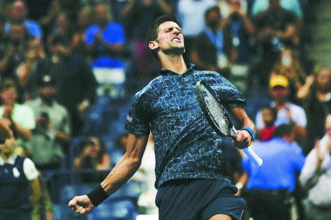 Djokovic, Nishikori in semis showdown