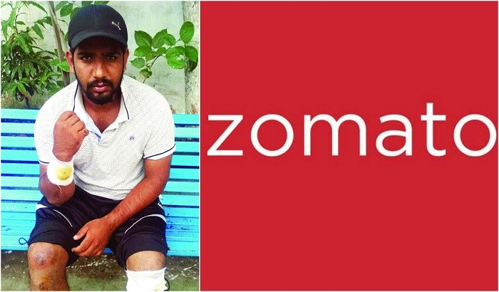 Lucky escape for Zomato employee in shoot out incident