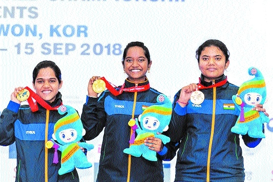 Shooter Shreya bags gold, silver in ISSF World C'ship