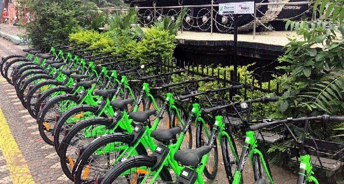 'Bicycle sharing' off to a great start
