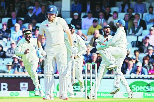 Ishant, Bumrah trigger England collapse