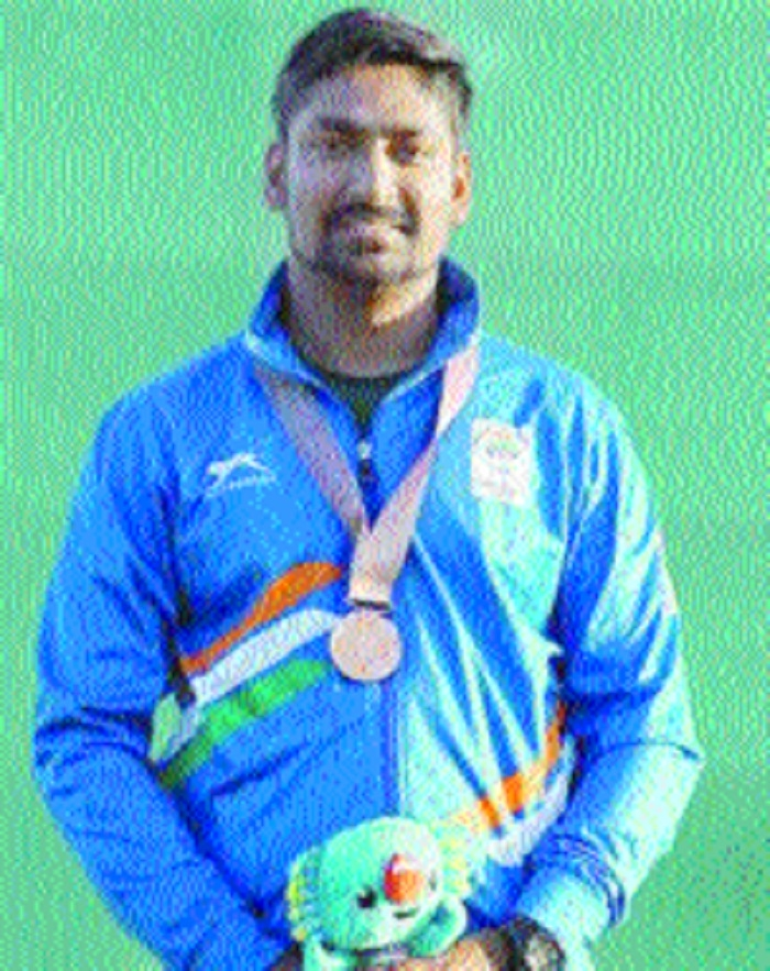 Ankur wins gold in double trap event