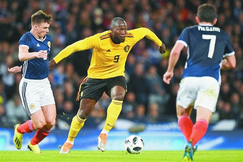 Lukaku, Hazard help Belgium thrash Scotland
