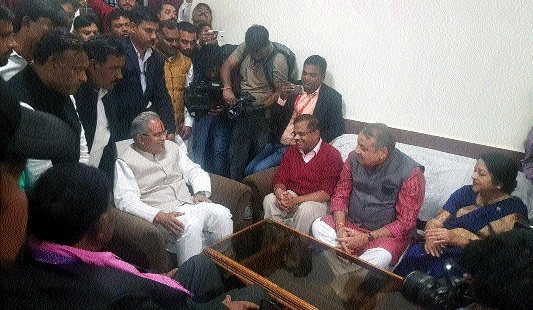 Most glaring and surprising incident: Ajit Jogi meets CM Bhupesh Baghel