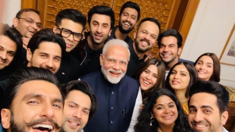 Bollywood stars meet PM