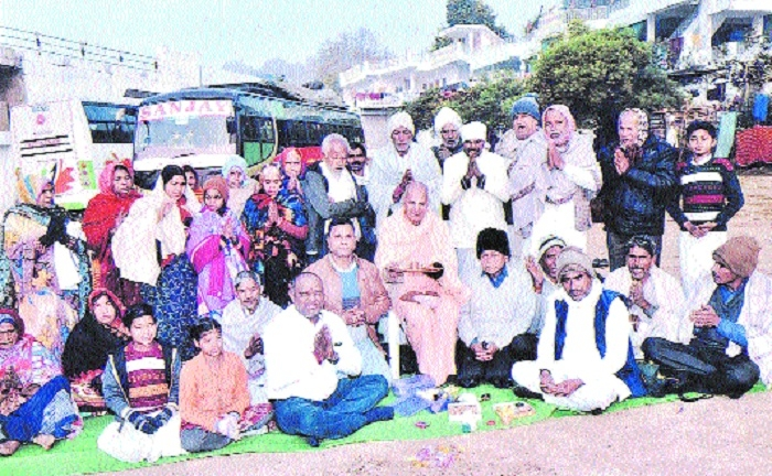 Bhoomipujan for 'Magh Month Kalp Was' held
