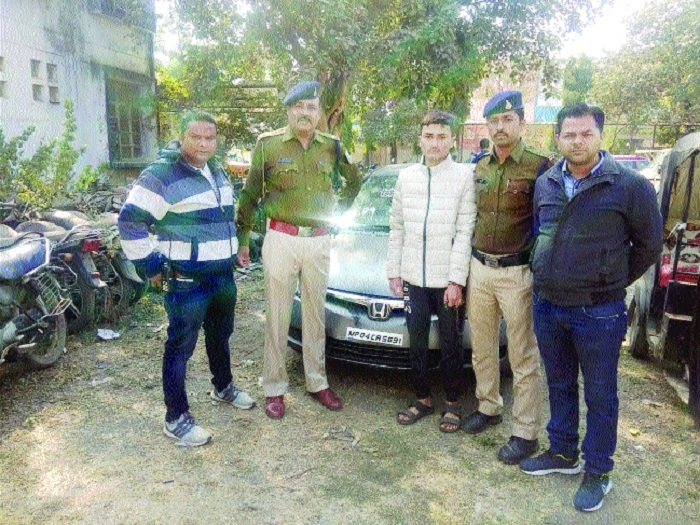 Absconding murder accused held, co-accused still at large