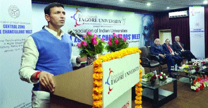 VC means 'visionary chair', says Education Minister Jeetu Patwari