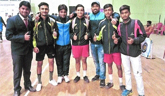 Madhya Pradesh Sepaktakraw team qualifies for National Games