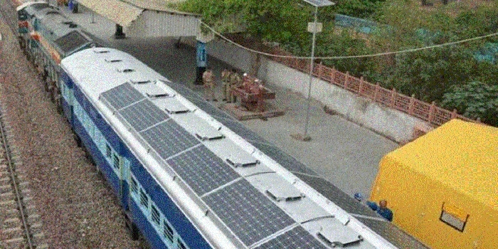 Bhopal, Rewanchal Express to have solar panels