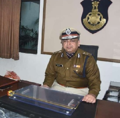 New IG Vivek Sharma assumes charge