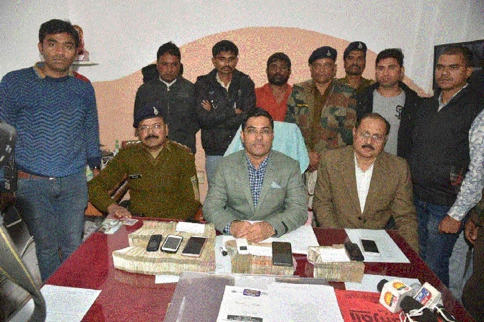 Hawala racket busted, four men arrested with Rs 34.71 lakh cash