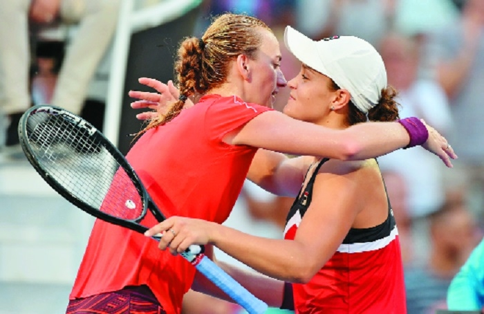Kvitova battles past Barty for Sydney International crown
