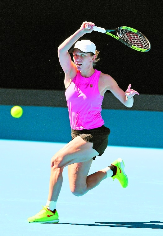 Quick learner Halep ready for Slam crown 2