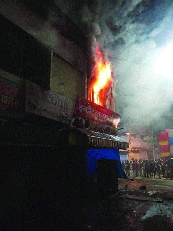 Furniture gutted in BMC's zonal office