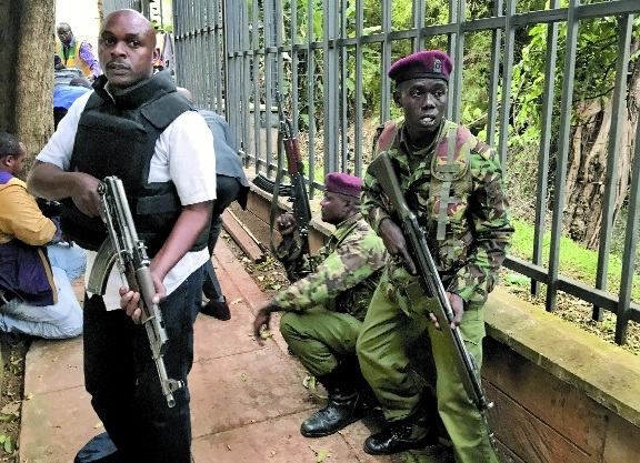 5 killed in extremists attack on Nairobi hotel