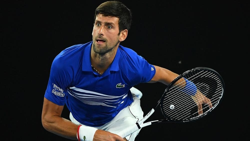 Djokovic powers past Tsonga, Miloslav puts out Wawrinka