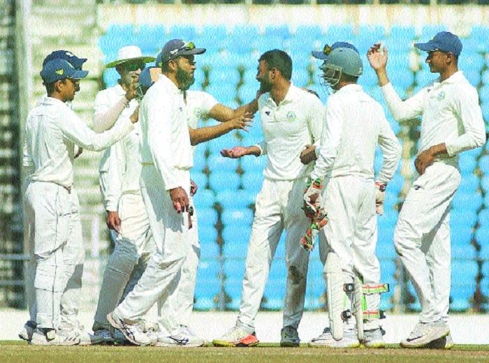 Vid's historical win over Mumbai in Ranji Trophy