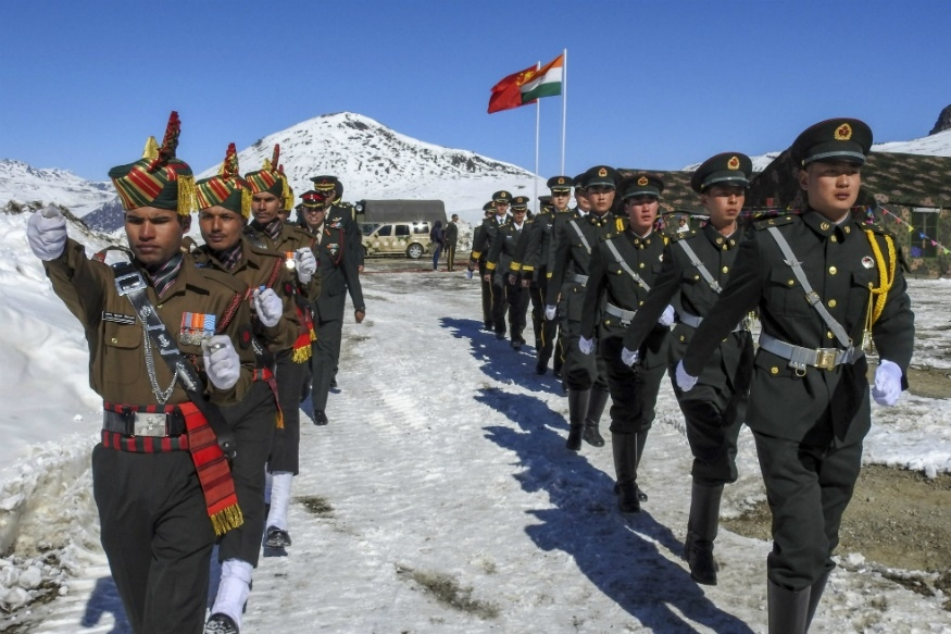 Indian, Chinese armies meet at Nathu La on New Year's Day