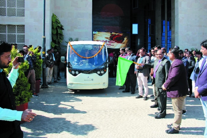 AIIMS Bhopal launches e-vehicle facility on occasion of New Year