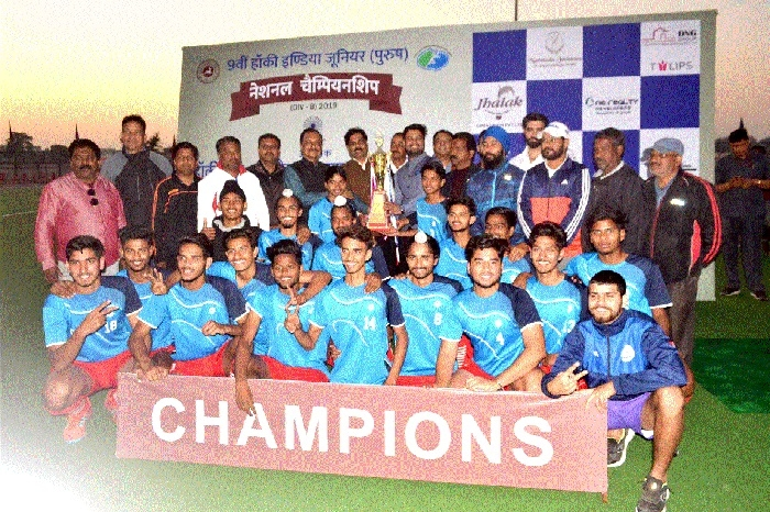 Patiala players are Junior National Men's Hockey champs