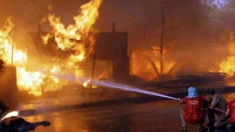 Four workers critically injured in fire at tyre factory near Mandsaur